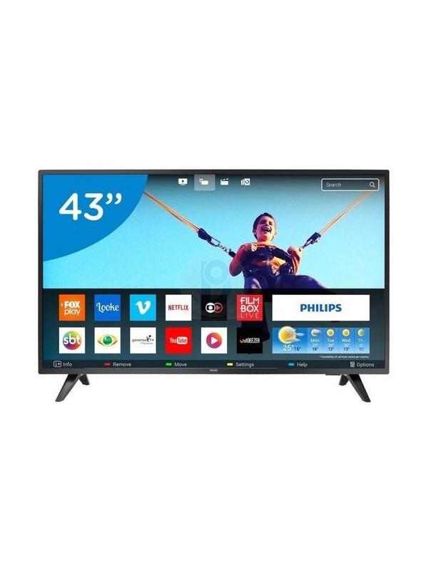 TV PHILIPS SMART HD 43' HDMI USB + NETFLIX (262TV43PFD5813)