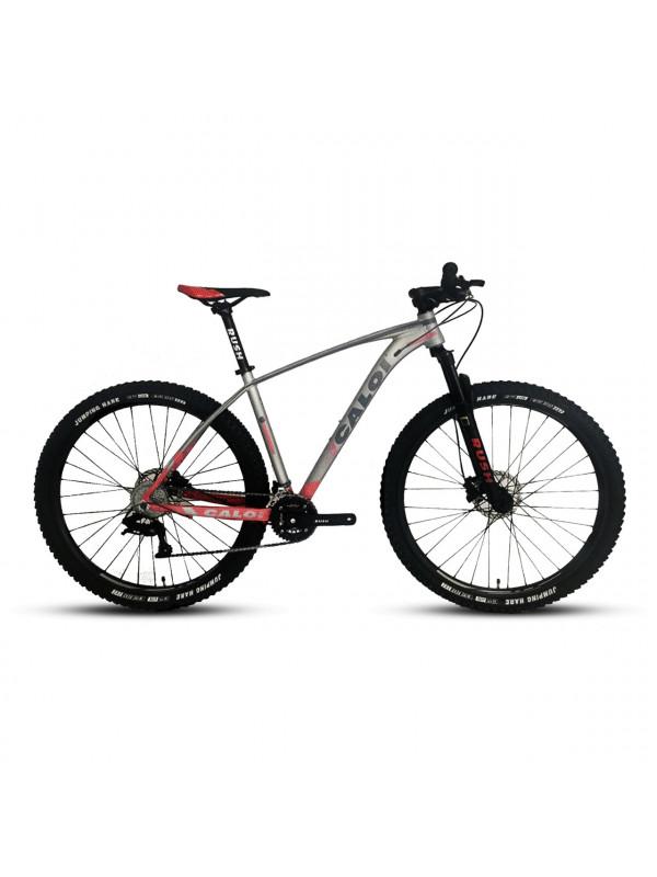 BICICLETA CALOI ALUMINIO GTX ARO 29 SMOLL GRIS/ROJO