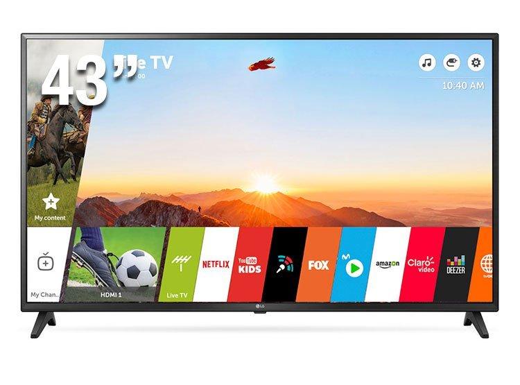 TV LG 43' LED SUPER ULTRA HD 4K. (43UK6200)